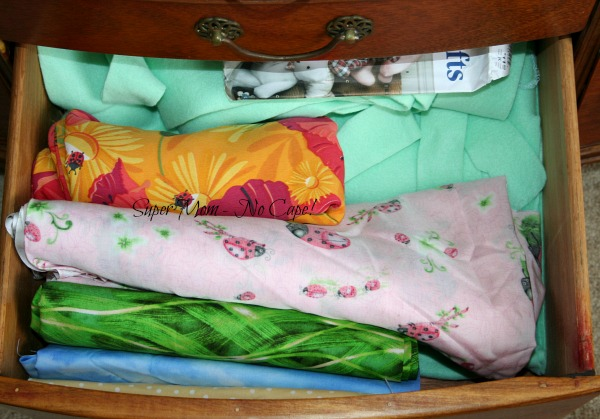 Fabric Dresser - drawer 6