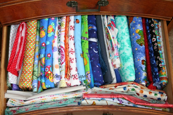 Fabric Dresser - drawer 9