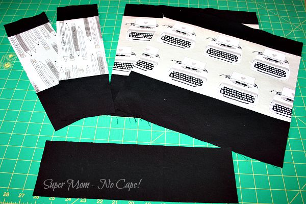 WIP Wednesday – Writing Tote and Small Projects