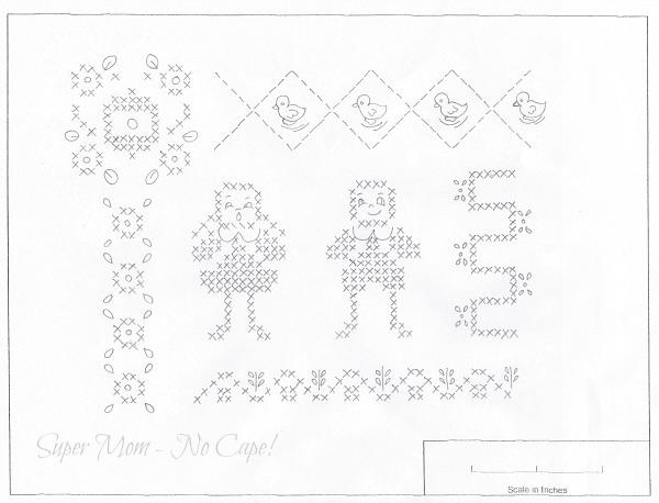 Vintage Embroider Monday & Stitchery Link Party #30