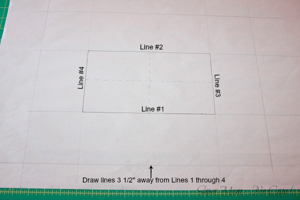 11. Sides and ends of pattern have been added
