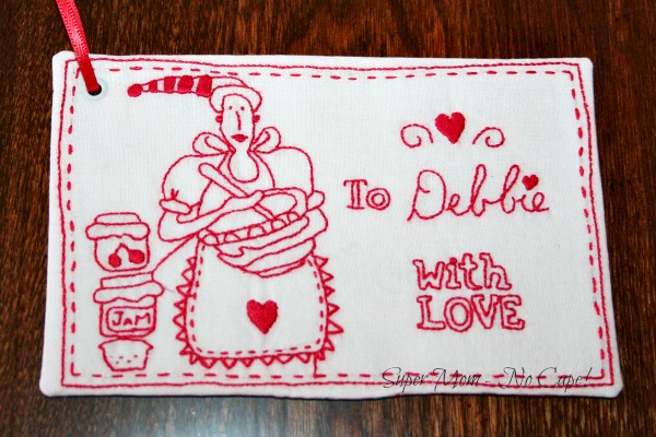 Gift tag for Debbie's gifts