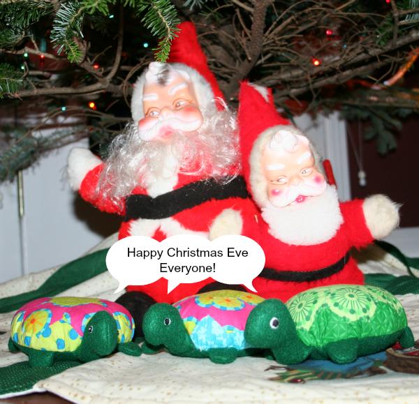 The Hexie Turtles' Christmas Eve