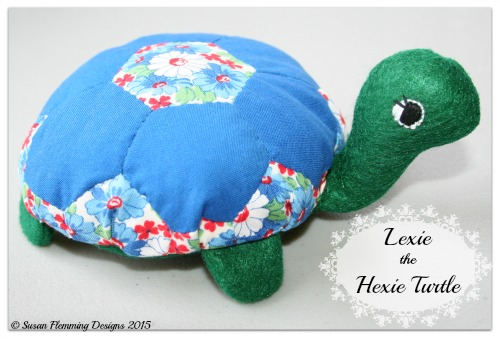 Lexie the Hexie Turtle Pattern