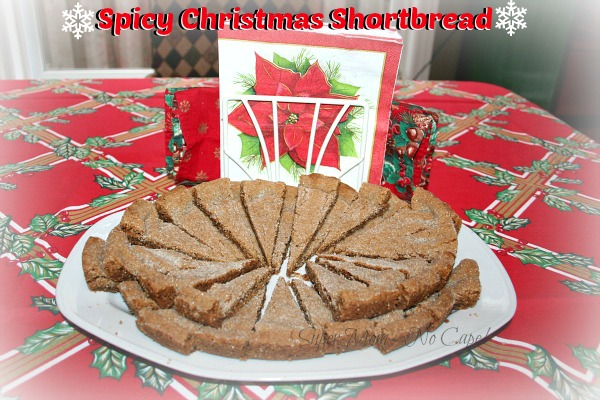Spicy Christmas Shortbread