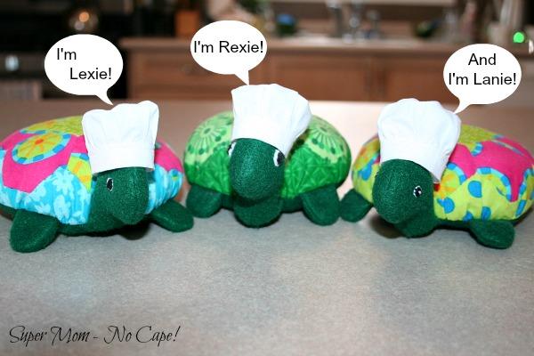 A Hexie Turtle Valentine