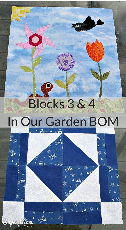 Blocks 3 & 4 In Our Garden BOM