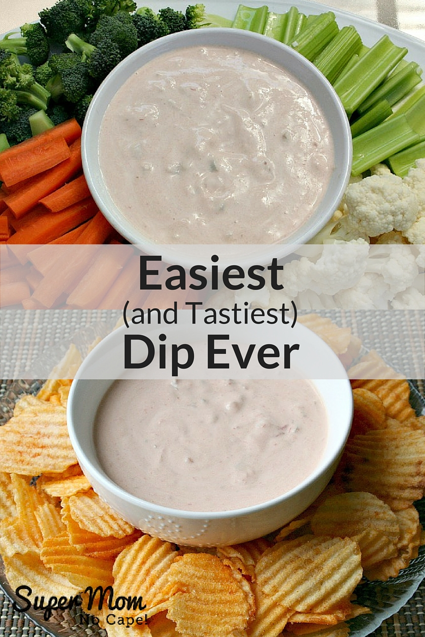 Easiest (and Tastiest) Dip Ever