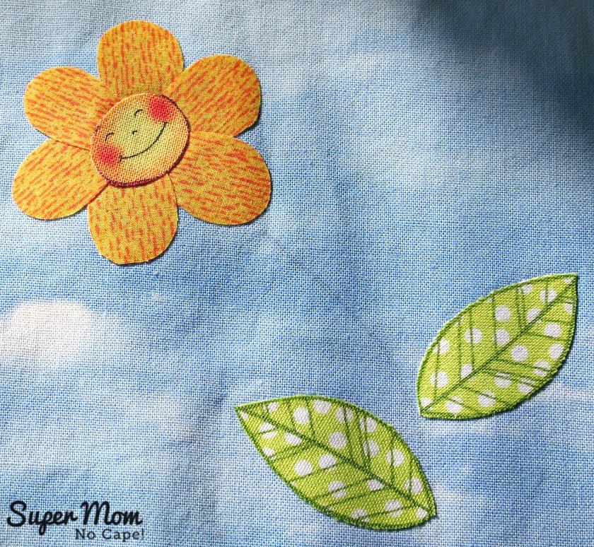 Happy Little Applique Flower