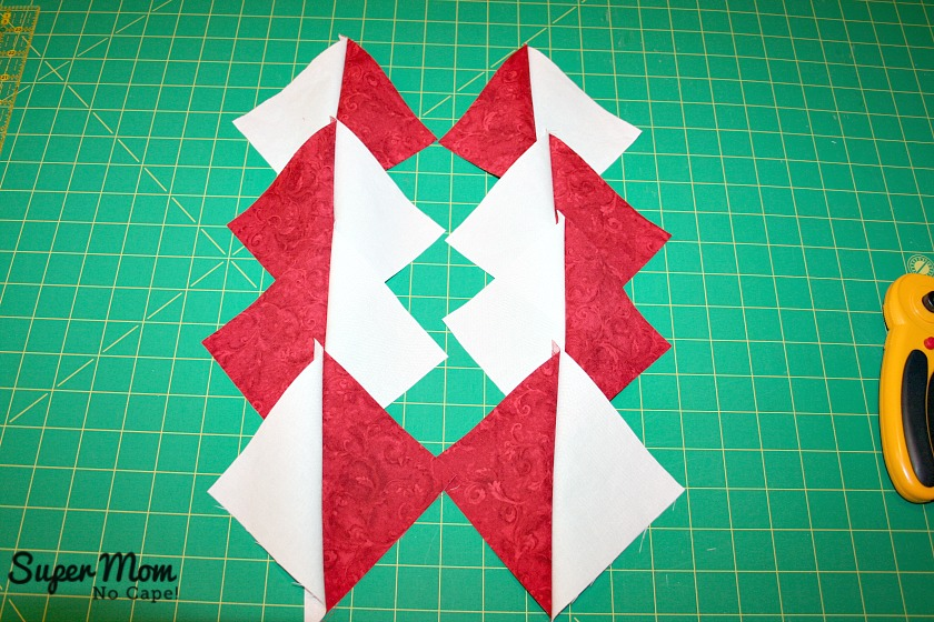 Maple Leaf Blocks - Step 5A