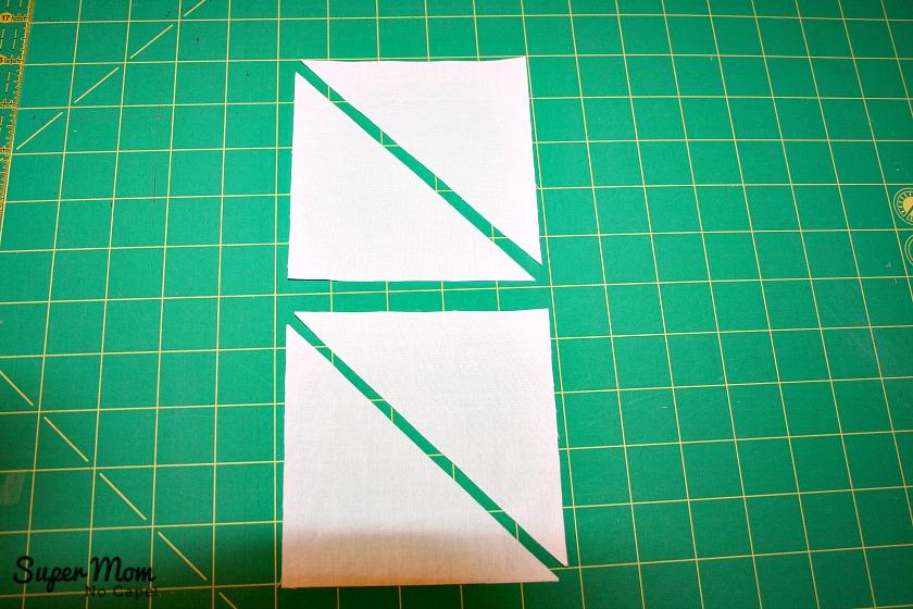Maple Leaf Blocks - Step 6-1