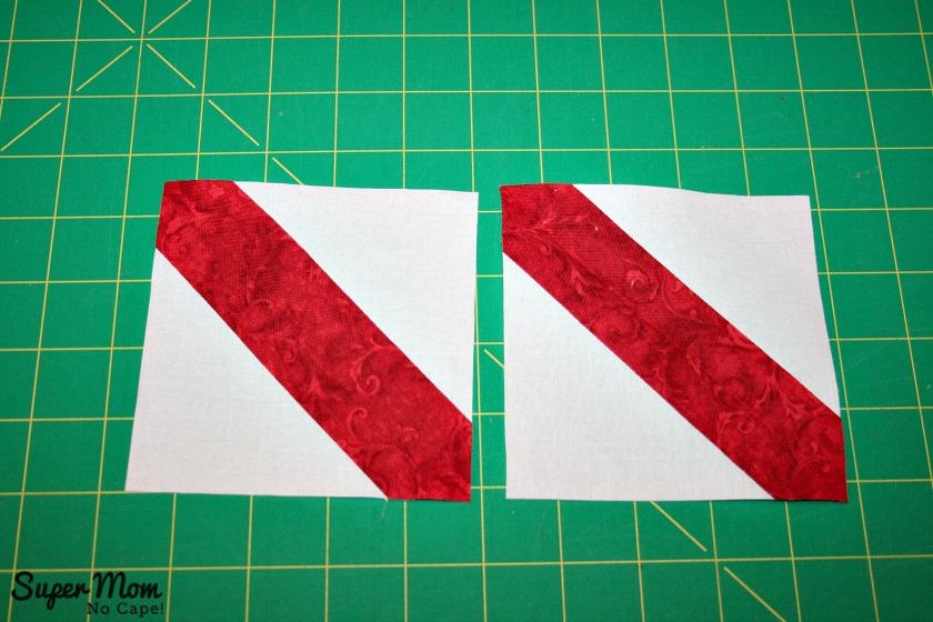 Maple Leaf Blocks - Step 6F