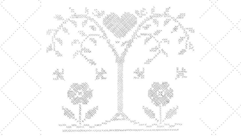 Vintage Embroidery Monday & Stitchery Link Party #58