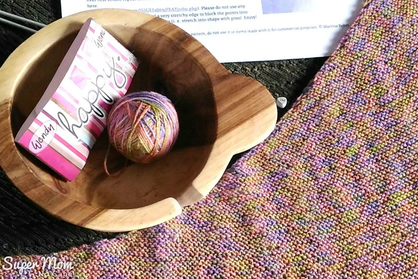 Yarn used to make Magrathea Shawl