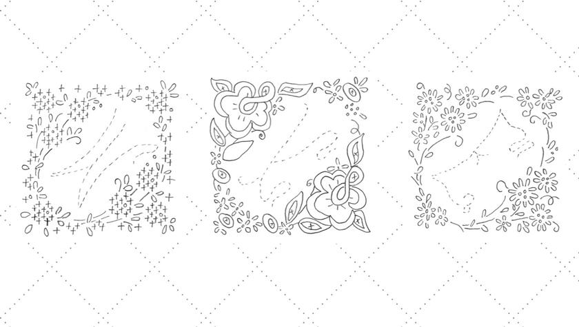 Vintage Embroidery Monday & Stitchery Link Party #74