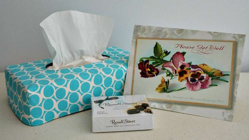 Round Elements Reversible Tissue Box Covers