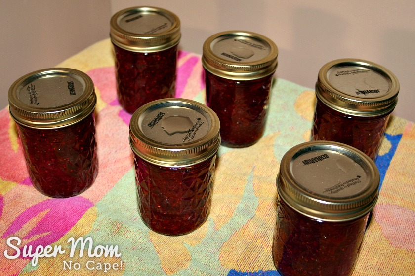 Best Ever Homemade Cranberry Sauce - allow jars to cool in draft free spot