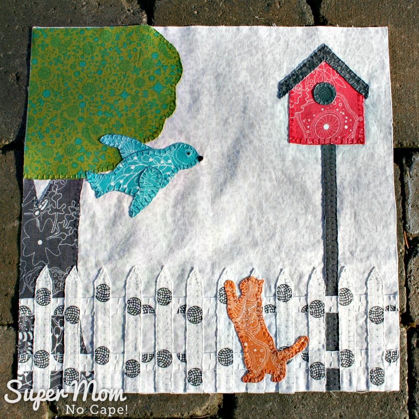 Block 10 Alison Glass version - In Our Garden
