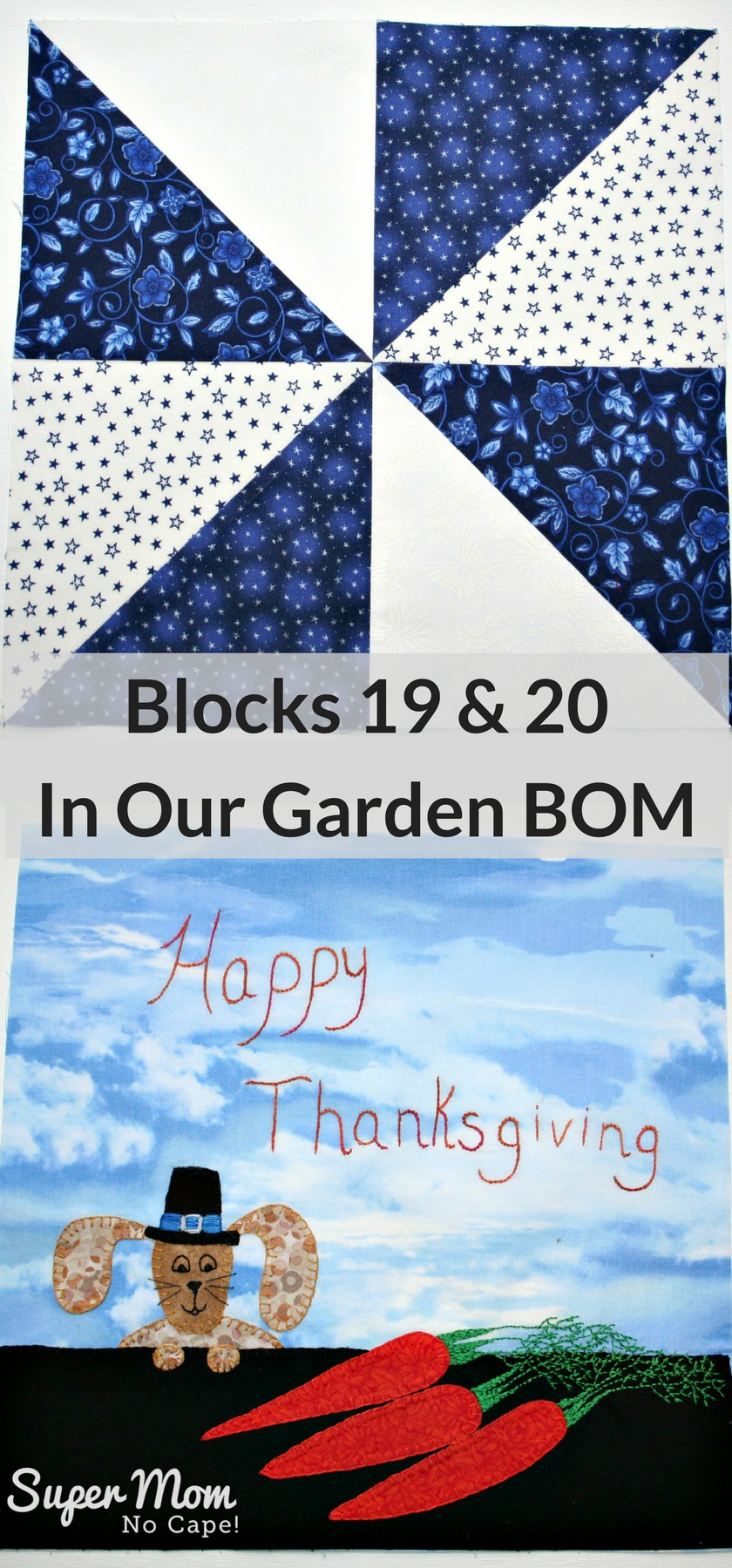Blocks 19 & 20 In Our Garden BOM