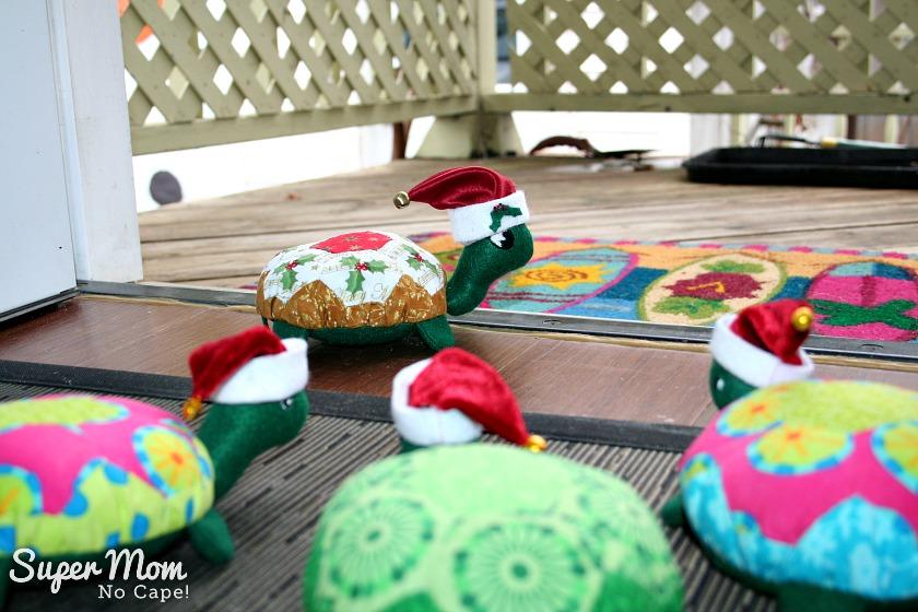 A Hexie Turtle Christmas Eve - Holly says goodbye