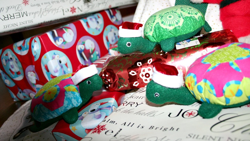 A Hexie Turtle Christmas Eve – A Visit from Holly