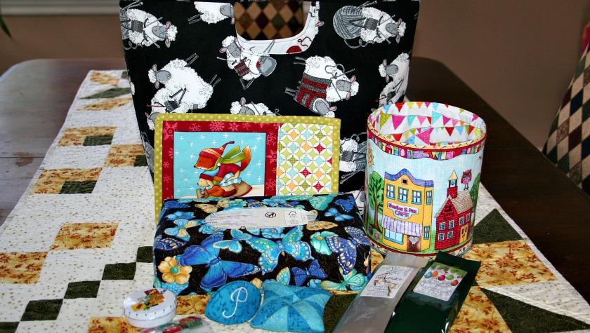 Santa Sack Swap 2016 – My Gifts for Pauline