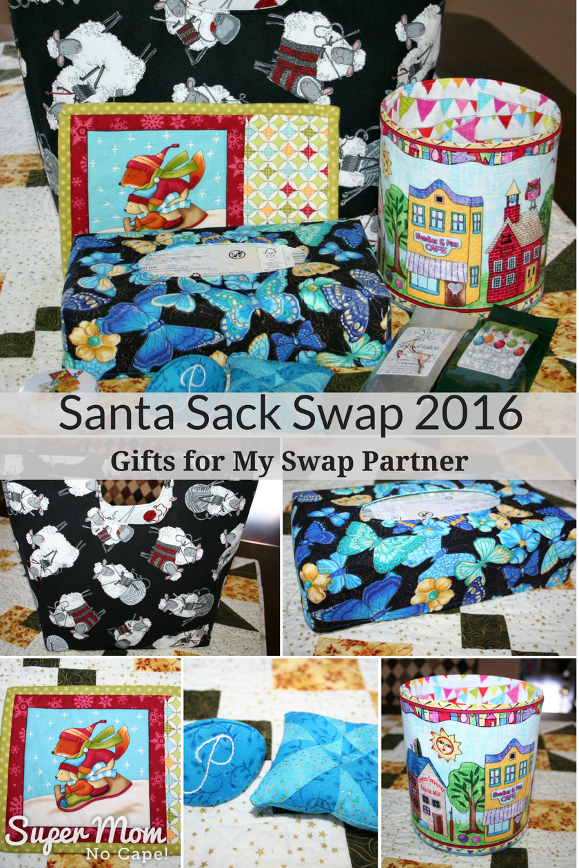 Santa Sack Swap 2016 - Gifts for My Swap Partner
