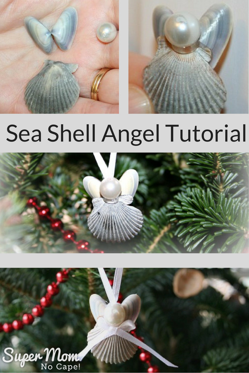 How to make a sea shell angel