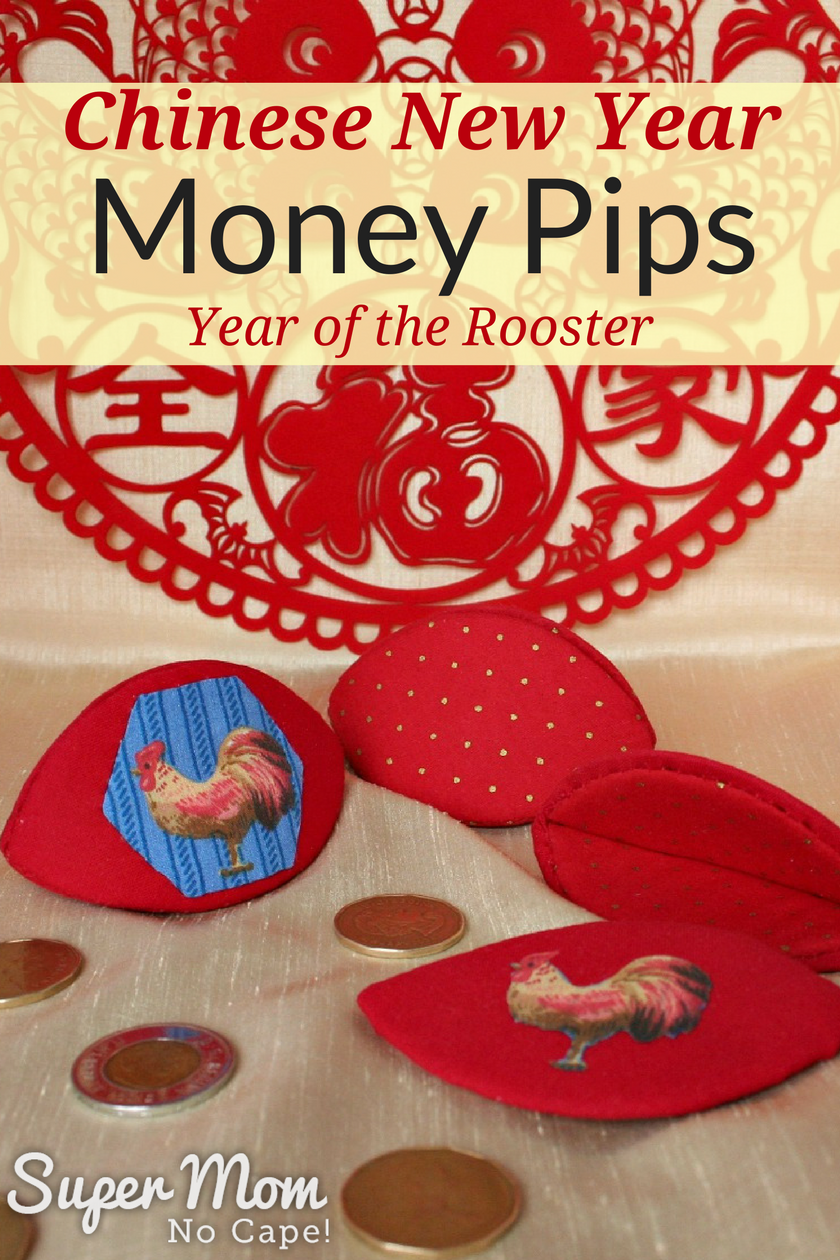 Chinese New Year Money Pips - Year of the Rooster