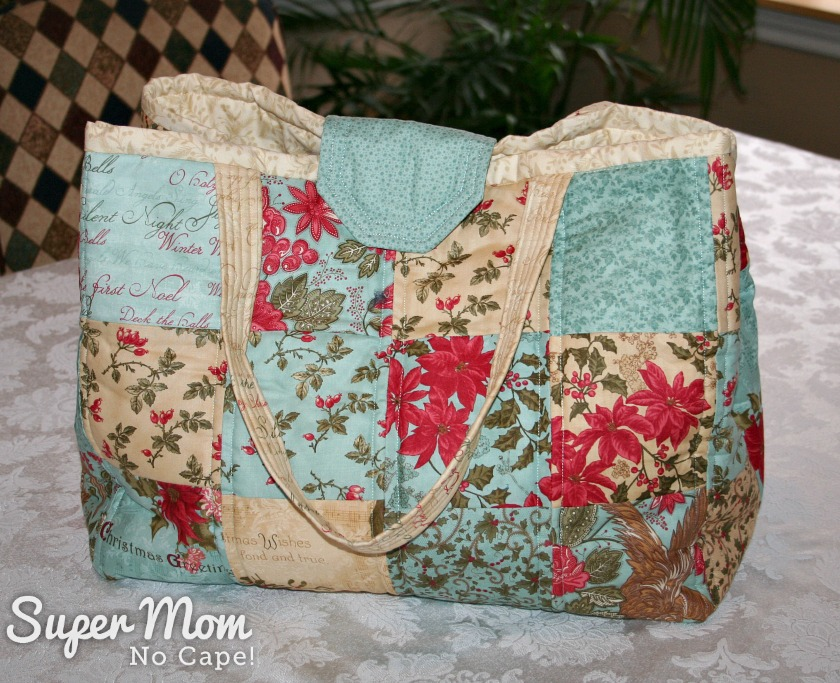 Large Christmas Tote Bag made by Pauline