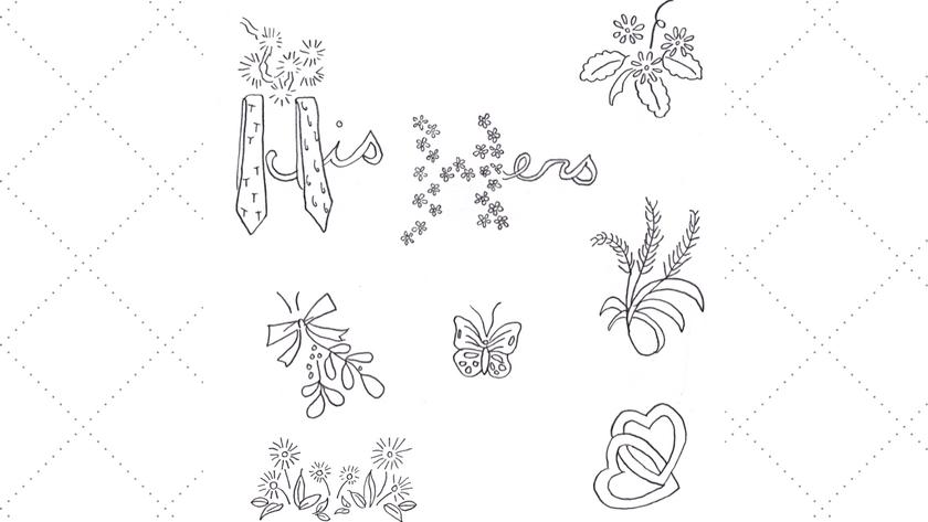 Vintage Embroidery Monday & Stitchery Link Party #95