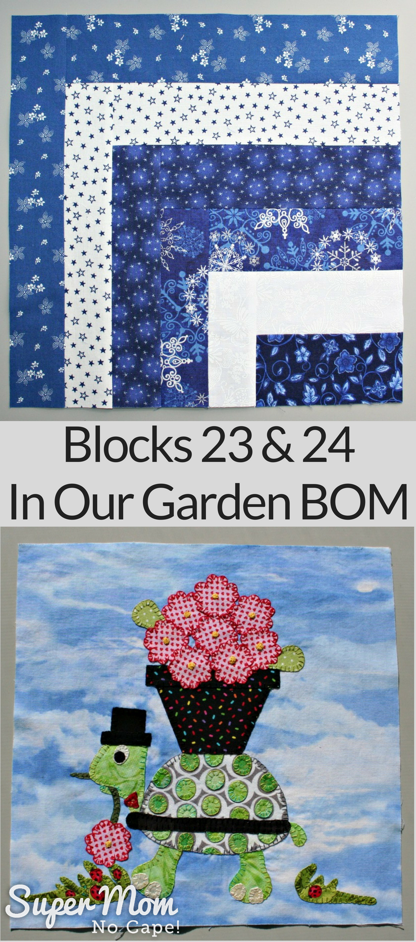 Blocks 23 & 24 - In Our Garden BOM