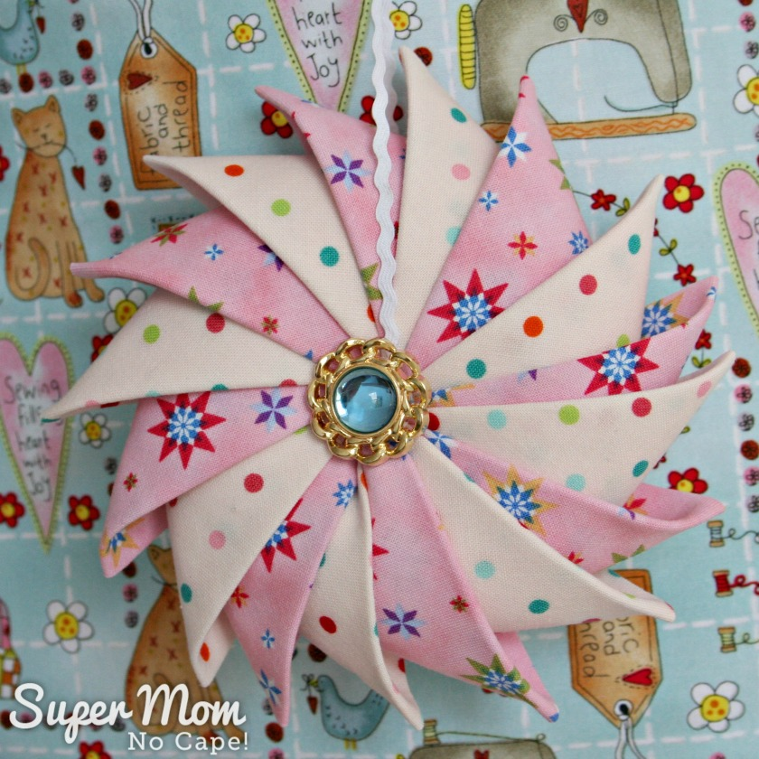 Prairie Point Star Ornament for 9th Anniversary Giveaway on Super Mom - No Cape!