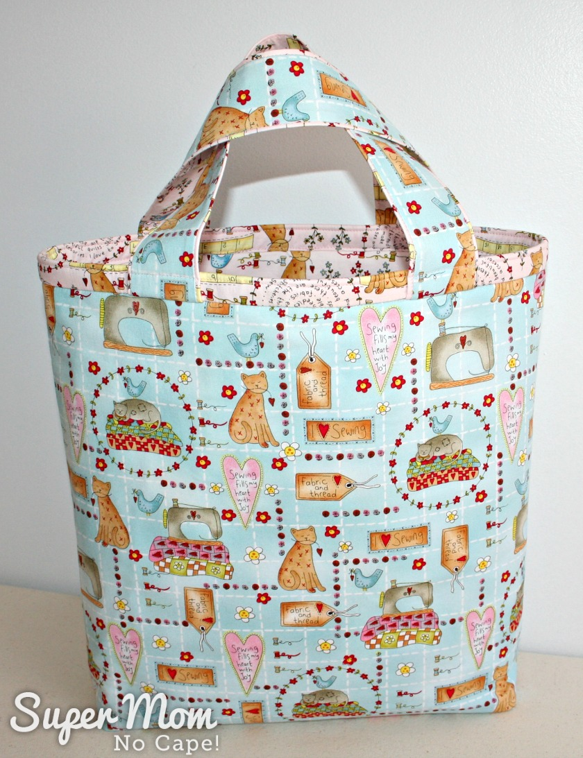 Tote Bag for 9th Anniversary Giveaway on Super Mom - No Cape!