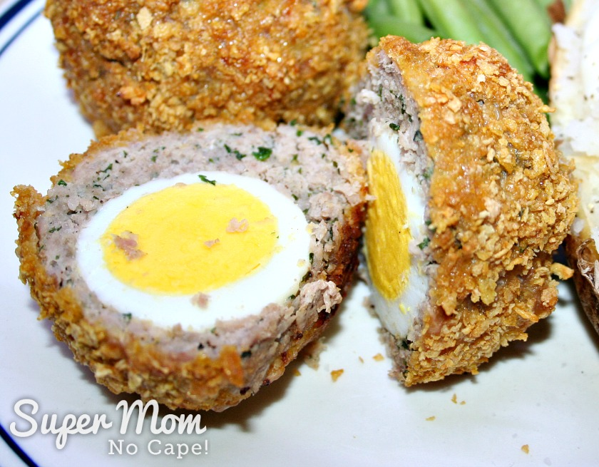 20 Delicious Ways to Use Up Hard Boiled Eggs - Gluten Free Baked Scotch Eggs