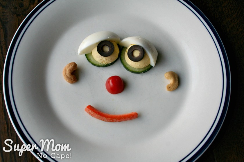 Delicious Ways to Use Up Hard Boiled Eggs - Monster Faces