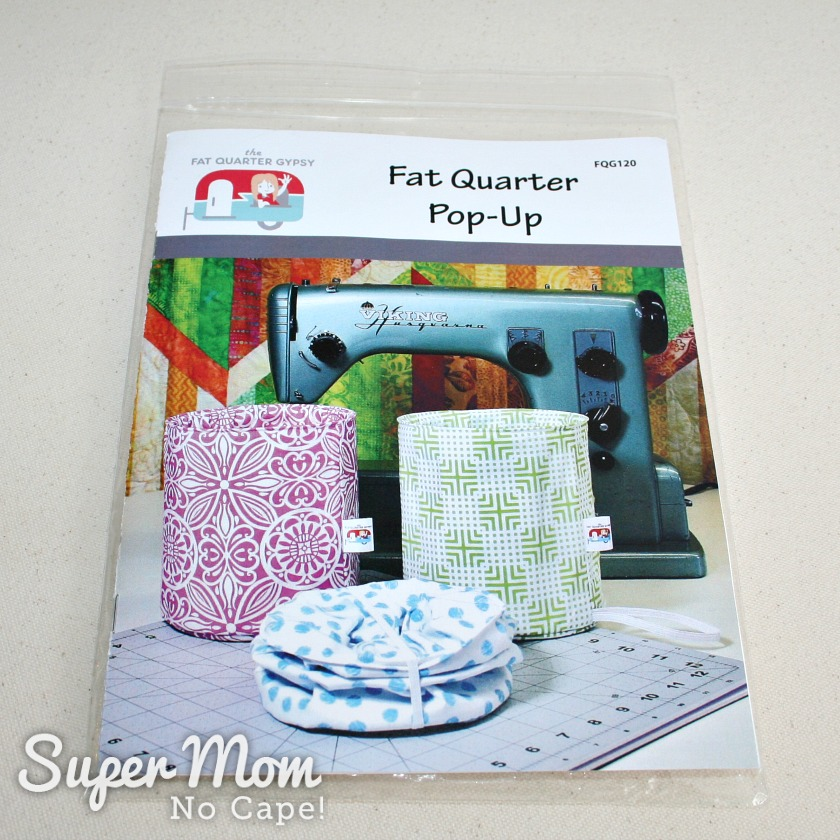 Fabric Scrap Storage - Fat Quarter Pop Up