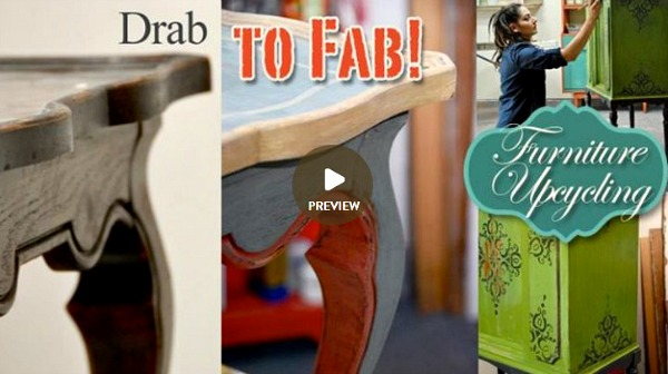 From Drab to Fab Furniture Upcycling Craftsy ad image