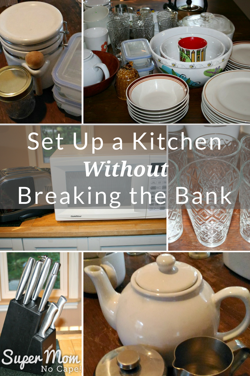 Set Up a Kitchen Without Breaking the Bank