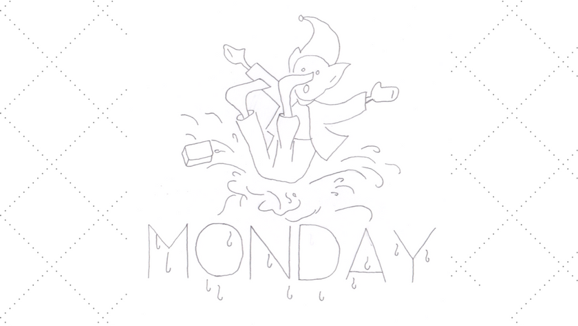 Monday Brownie DOW Embroidery Pattern