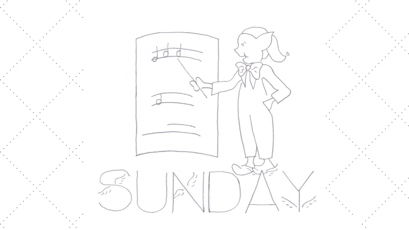 Sunday Brownie DOW Embroidery Pattern
