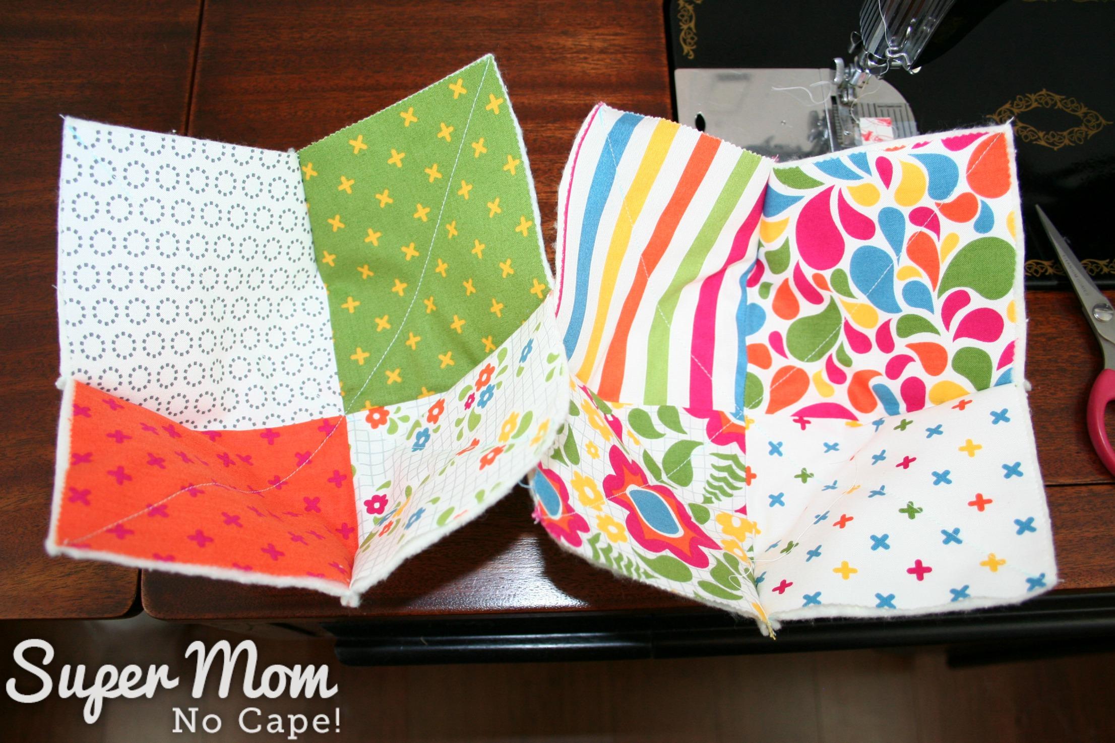 4 patch charm quilt pattern