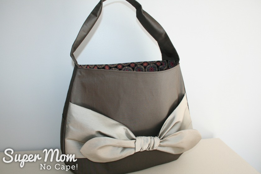 Elegant Bow Purse Edition 3 - Partial side view