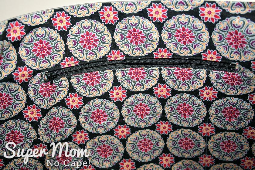 Elegant Bow Purse Edition 3 - inset zippered pocket