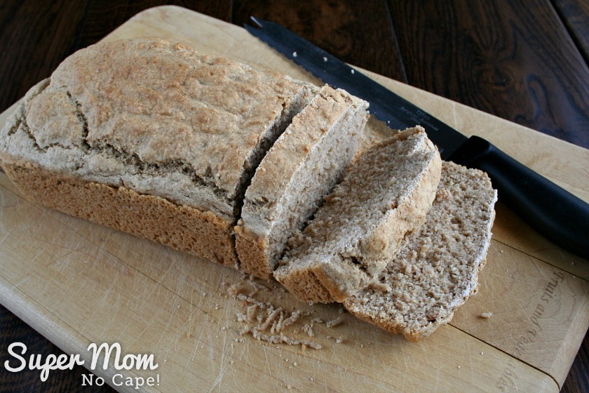 Herbed Beer Bread - Slice and enjoy!
