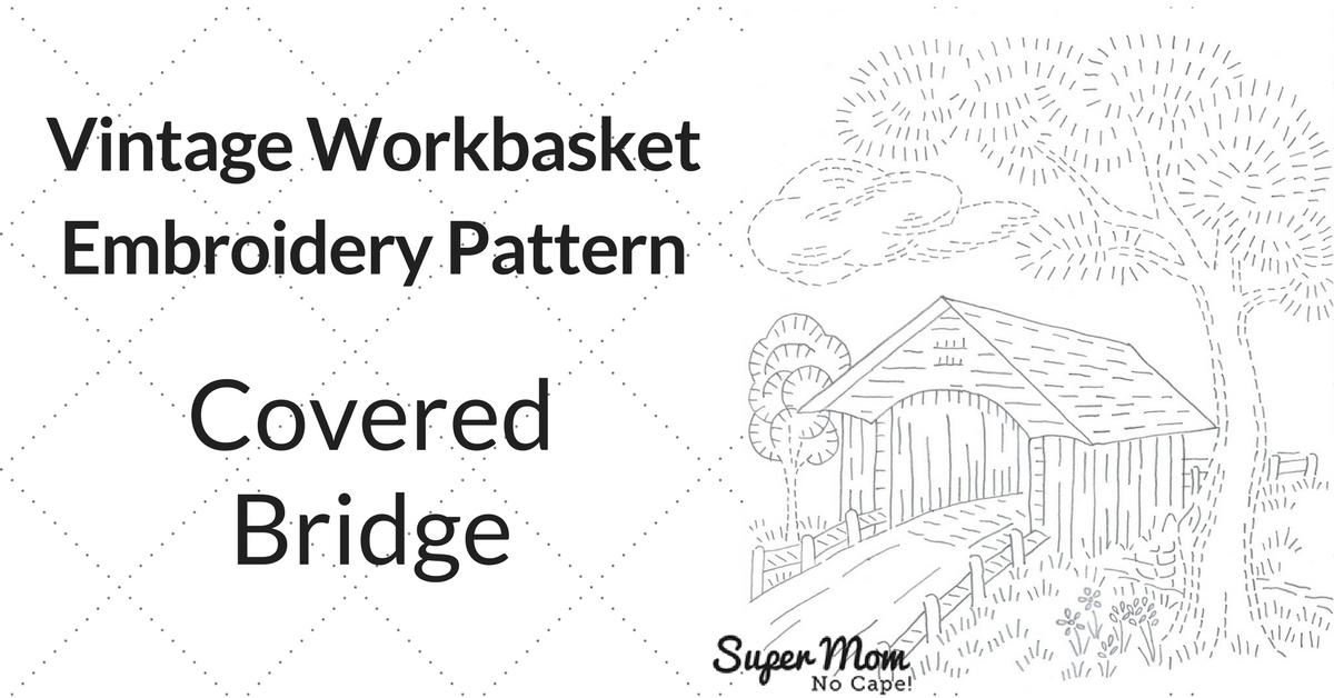 Vintage Embroidery Monday Stitchery Link Party 126 Super Mom