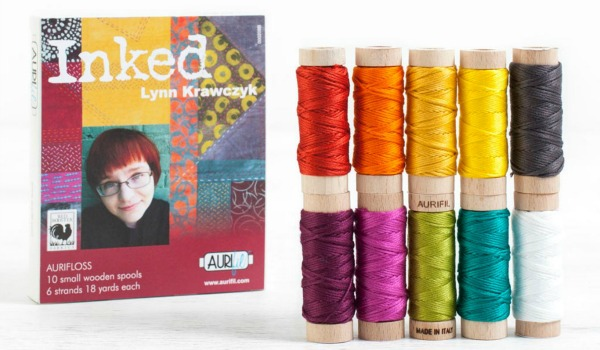 Aurifil Inked Collection Embroidery Floss Set ad image