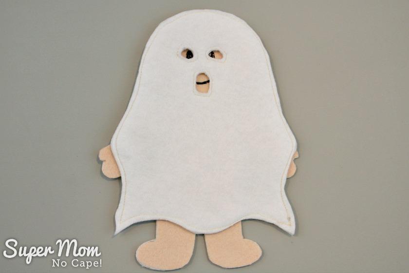 Wee Scholar Felt Doll Halloween Costume Pattern Release - Ghost