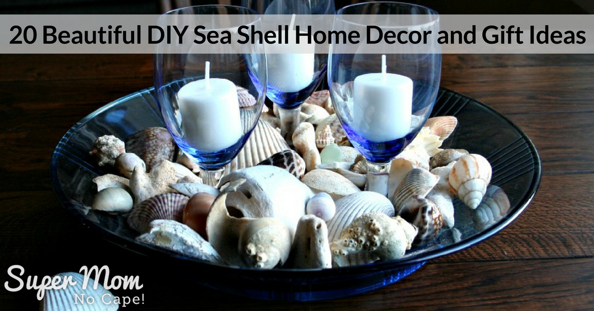 20 beautiful diy sea shell home decor and gift ideas Diy home decor with shells