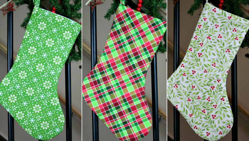 pin it beautiful handmade christmas stockings for your holiday decor and gifting